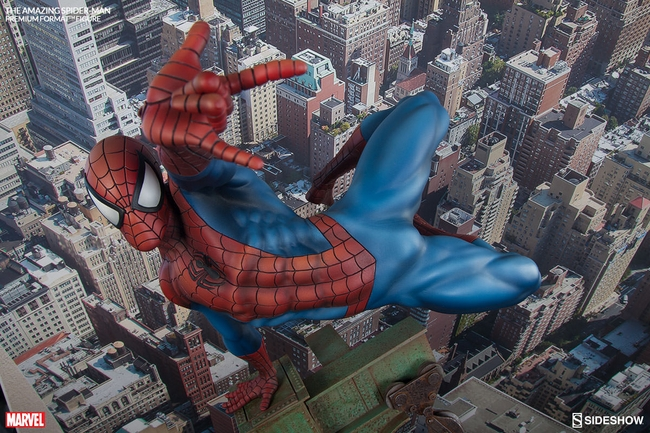 THE AMAZING SPIDERMAN Premium format Amazing-Spiderman-premium-Sideshow-04-Copier-