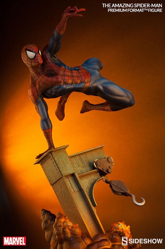THE AMAZING SPIDERMAN Premium format Amazing-Spiderman-premium-Sideshow-05-Copier-
