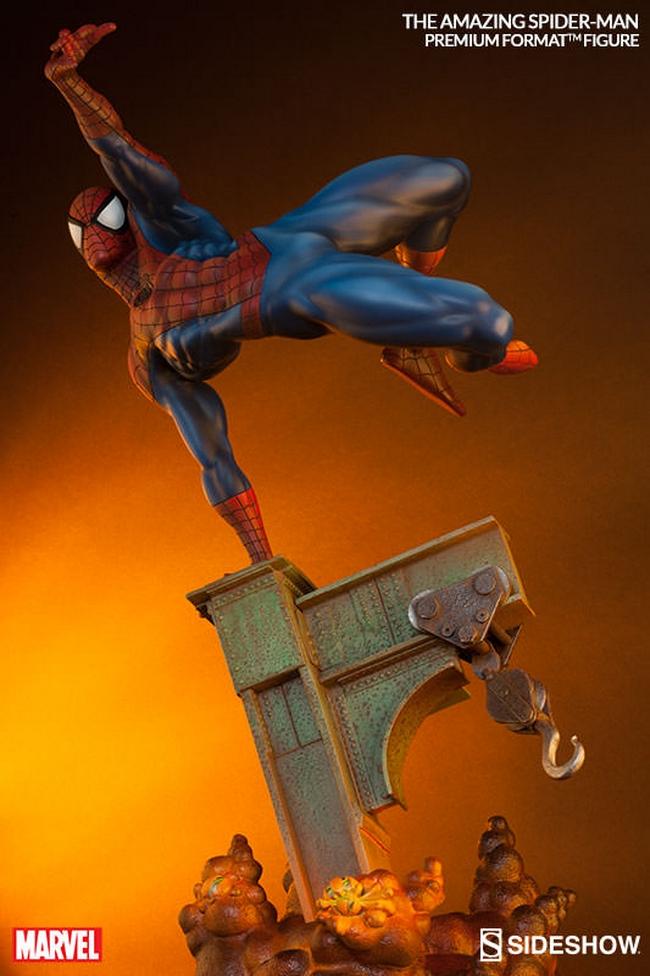 THE AMAZING SPIDERMAN Premium format Amazing-Spiderman-premium-Sideshow-06-Copier-