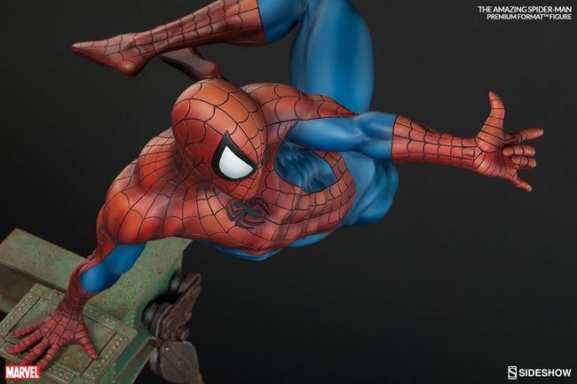THE AMAZING SPIDERMAN Premium format Amazing-Spiderman-premium-Sideshow-07-Copier-