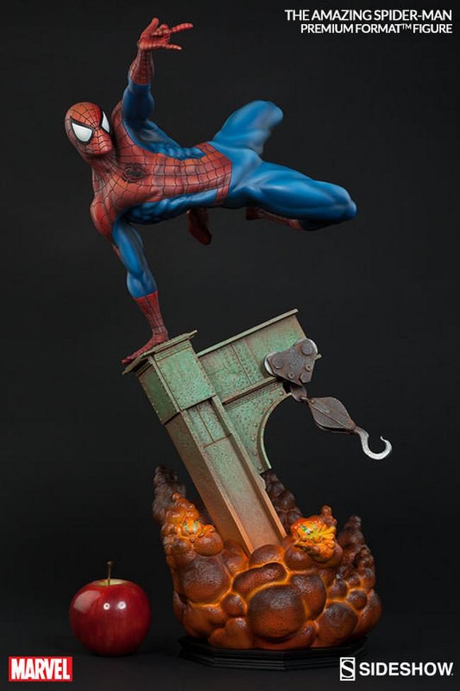 THE AMAZING SPIDERMAN Premium format Amazing-Spiderman-premium-Sideshow-08-Copier-
