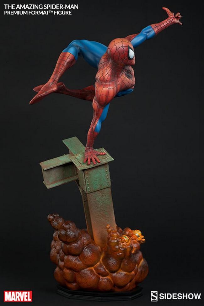 THE AMAZING SPIDERMAN Premium format Amazing-Spiderman-premium-Sideshow-09-Copier-