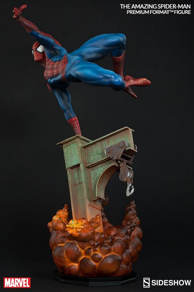 THE AMAZING SPIDERMAN Premium format Amazing-Spiderman-premium-Sideshow-11-Copier-
