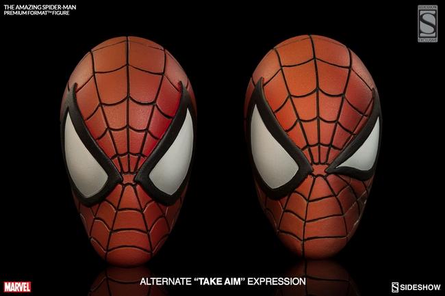 THE AMAZING SPIDERMAN Premium format Amazing-Spiderman-premium-Sideshow-14-Copier-