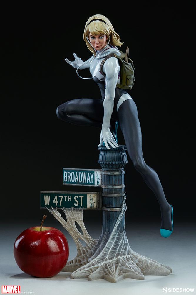 """SPIDER-GWEN """"MARK BROOKS"""" Statue -spider-gwen-statue-sideshow-200507-04"""