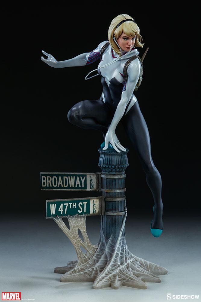 """SPIDER-GWEN """"MARK BROOKS"""" Statue -spider-gwen-statue-sideshow-200507-07"""