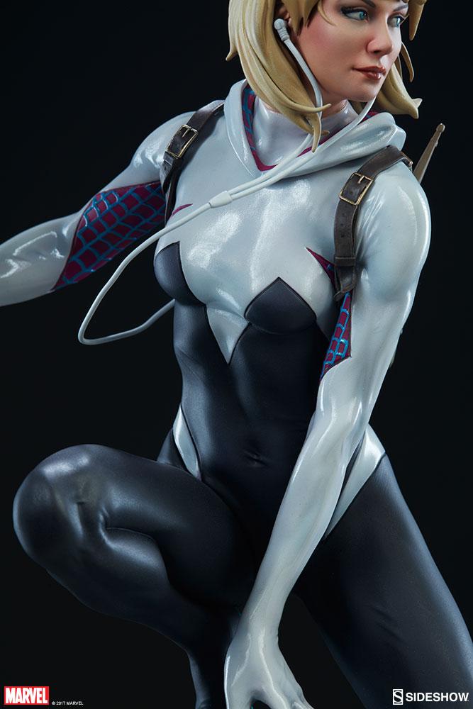 """SPIDER-GWEN """"MARK BROOKS"""" Statue -spider-gwen-statue-sideshow-200507-08"""