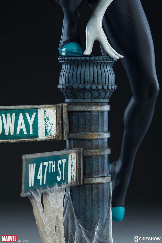 """SPIDER-GWEN """"MARK BROOKS"""" Statue -spider-gwen-statue-sideshow-200507-13"""
