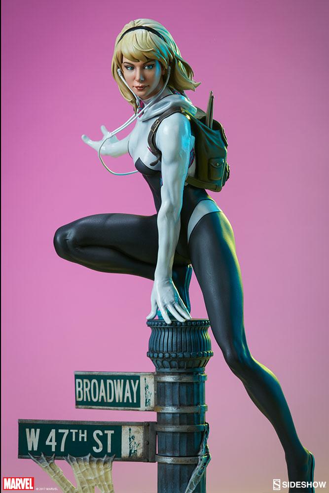 """SPIDER-GWEN """"MARK BROOKS"""" Statue -spider-gwen-statue-sideshow-200507-17"""