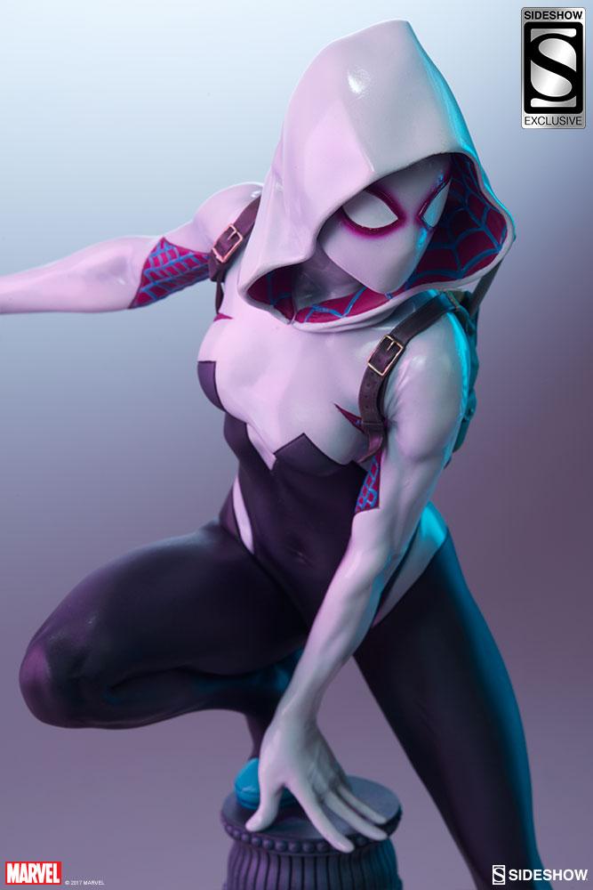 """SPIDER-GWEN """"MARK BROOKS"""" Statue -spider-gwen-statue-sideshow-200507-18"""