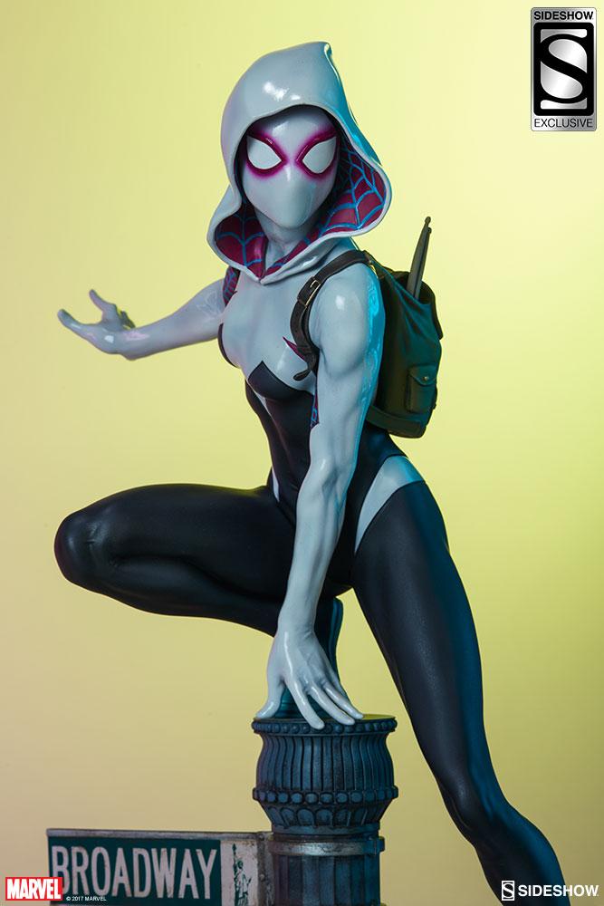 """SPIDER-GWEN """"MARK BROOKS"""" Statue -spider-gwen-statue-sideshow-200507-19"""