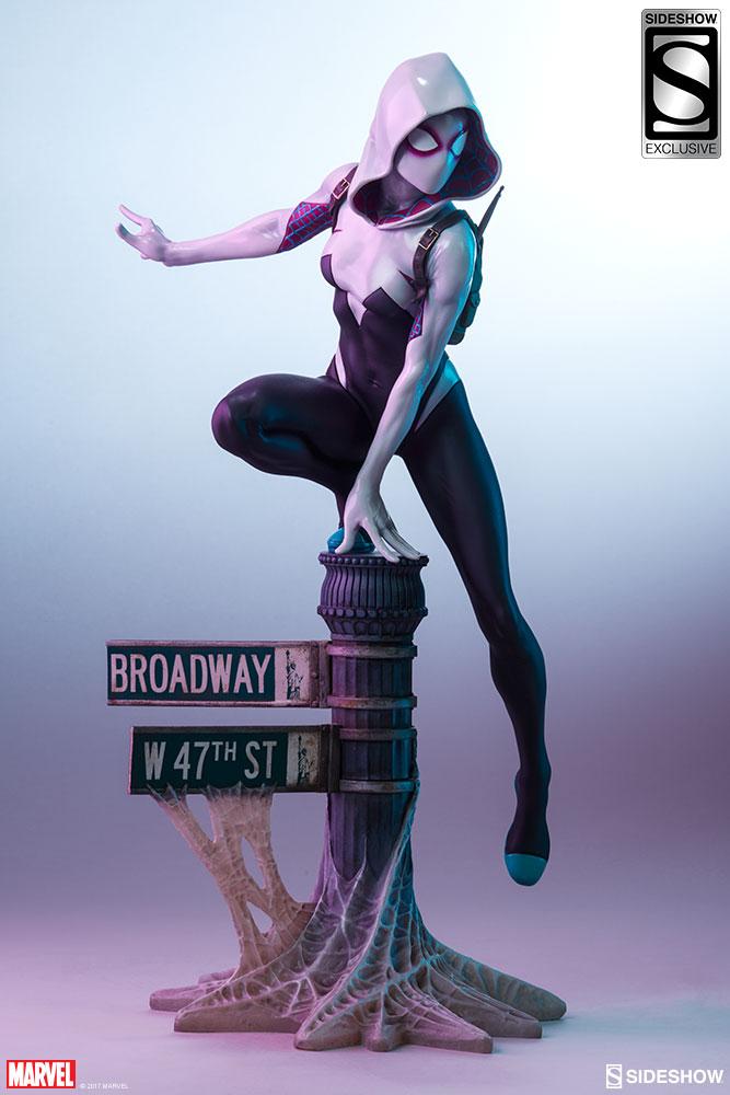 """SPIDER-GWEN """"MARK BROOKS"""" Statue -spider-gwen-statue-sideshow-200507-20"""