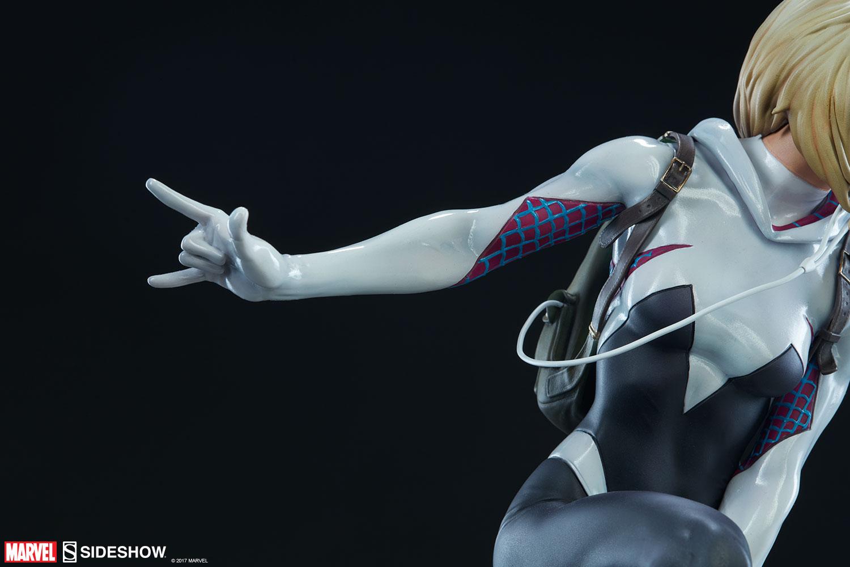 """SPIDER-GWEN """"MARK BROOKS"""" Statue -spider-gwen-statue-sideshow-200507-25"""