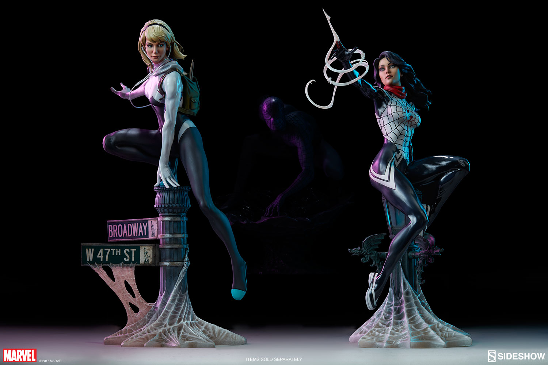 """SPIDER-GWEN """"MARK BROOKS"""" Statue -spider-gwen-statue-sideshow-200507-30"""