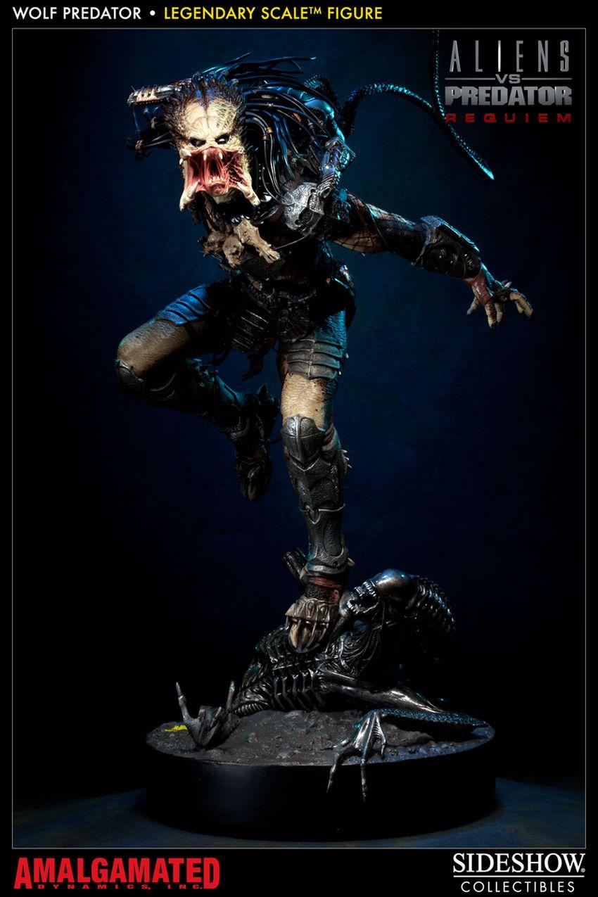 ALIENS VS PREDATORS: WOLF PREDATOR Legendary scale figure Wolf-predator-legendary-scale-figure-400093_press-01