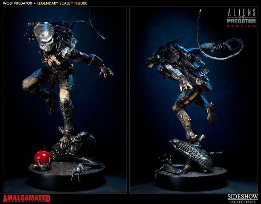 ALIENS VS PREDATORS: WOLF PREDATOR Legendary scale figure Wolf-predator-legendary-scale-figure-400093_press-03