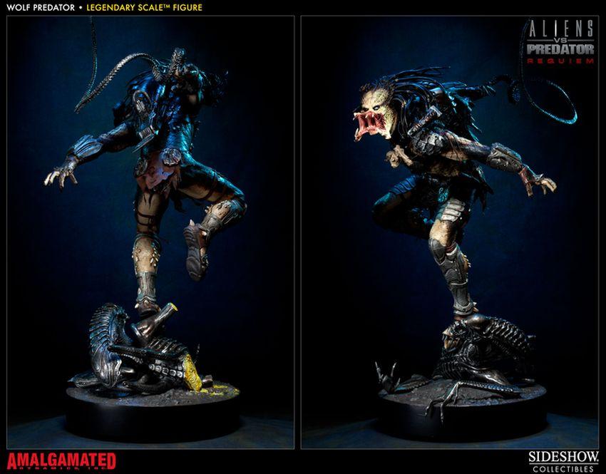 ALIENS VS PREDATORS: WOLF PREDATOR Legendary scale figure Wolf-predator-legendary-scale-figure-400093_press-05