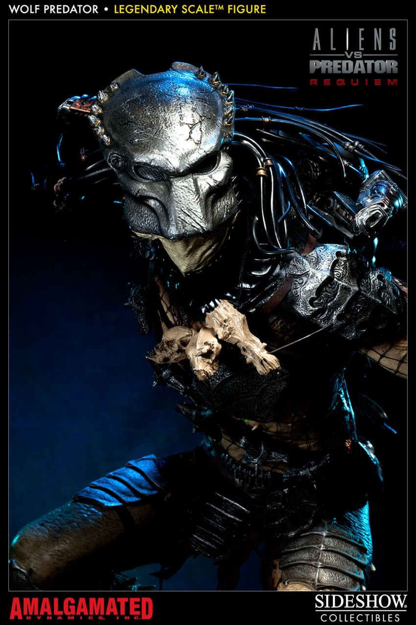 ALIENS VS PREDATORS: WOLF PREDATOR Legendary scale figure Wolf-predator-legendary-scale-figure-400093_press-09
