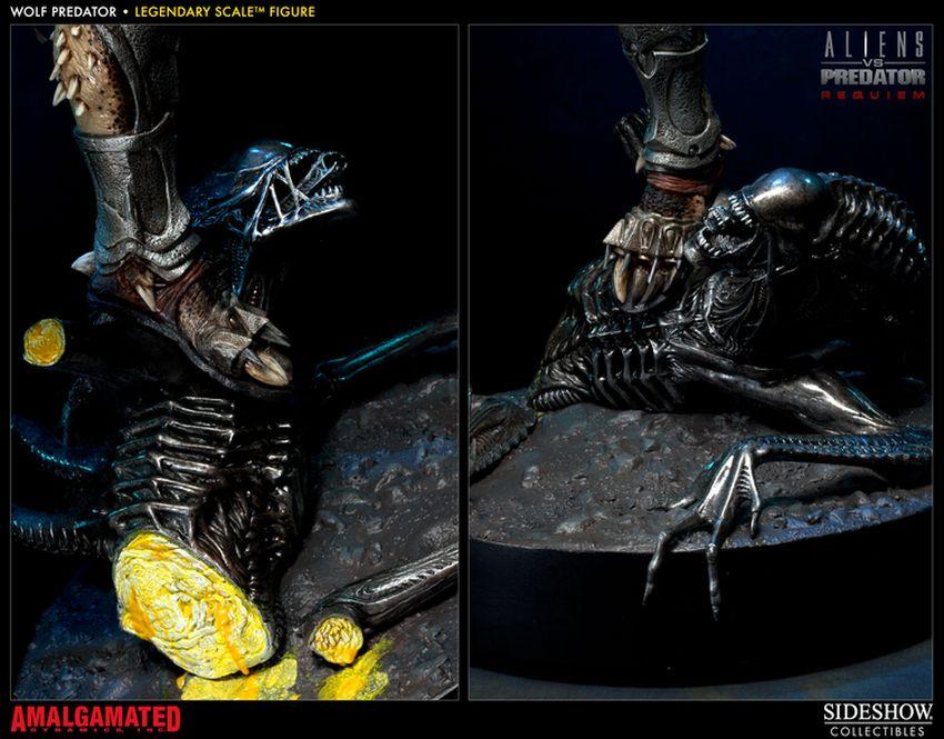 ALIENS VS PREDATORS: WOLF PREDATOR Legendary scale figure Wolf-predator-legendary-scale-figure-400093_press-11