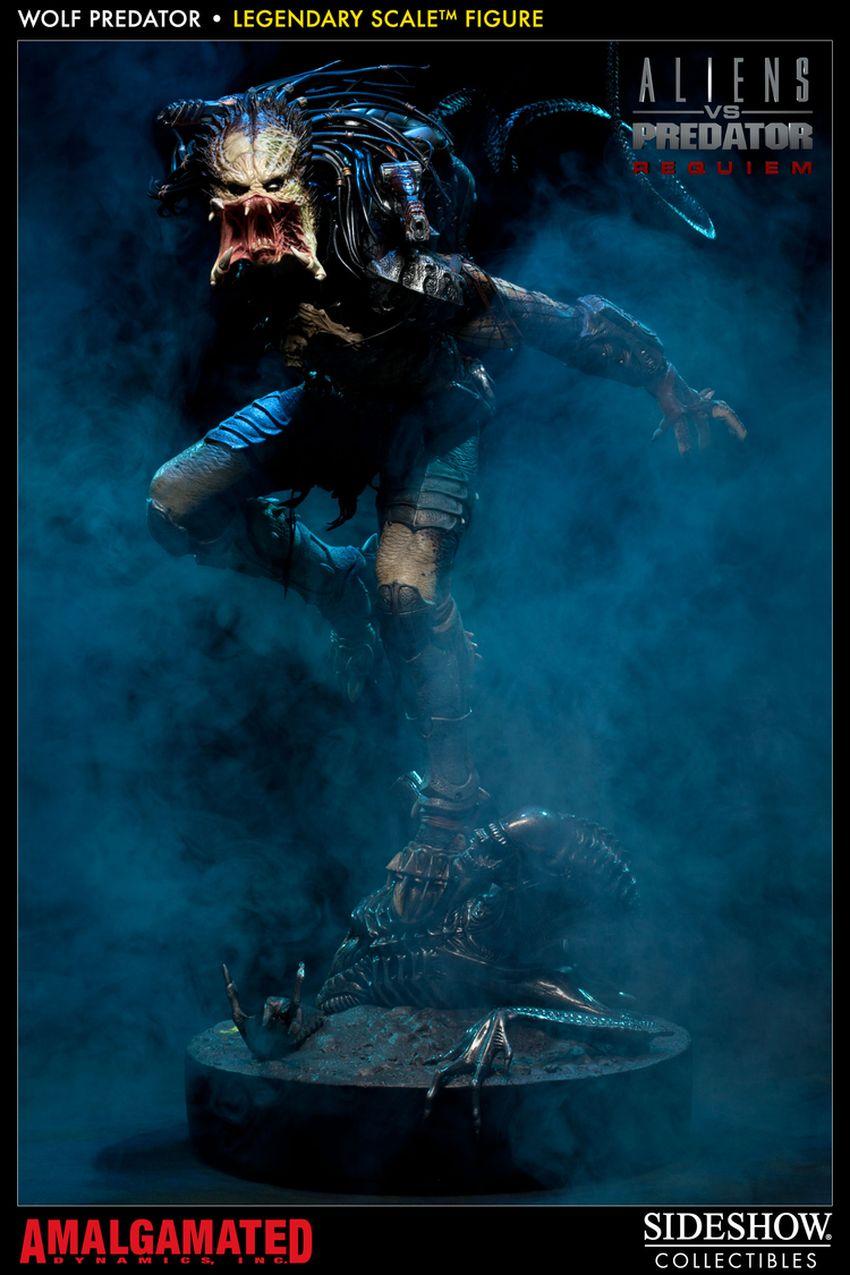 ALIENS VS PREDATORS: WOLF PREDATOR Legendary scale figure Wolf-predator-legendary-scale-figure-400093_press-14