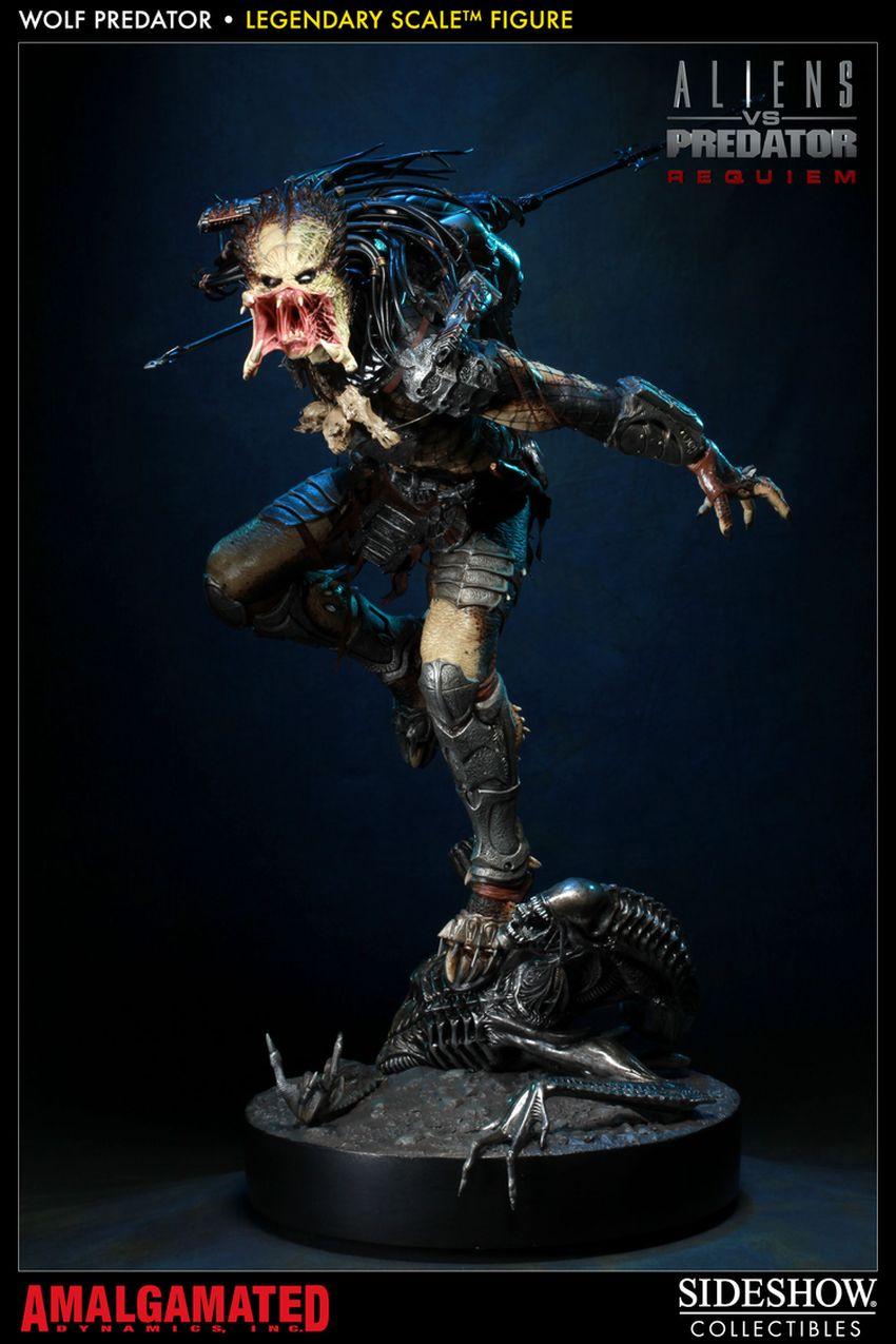 ALIENS VS PREDATORS: WOLF PREDATOR Legendary scale figure Wolf-predator-legendary-scale-figure-400093_press-19