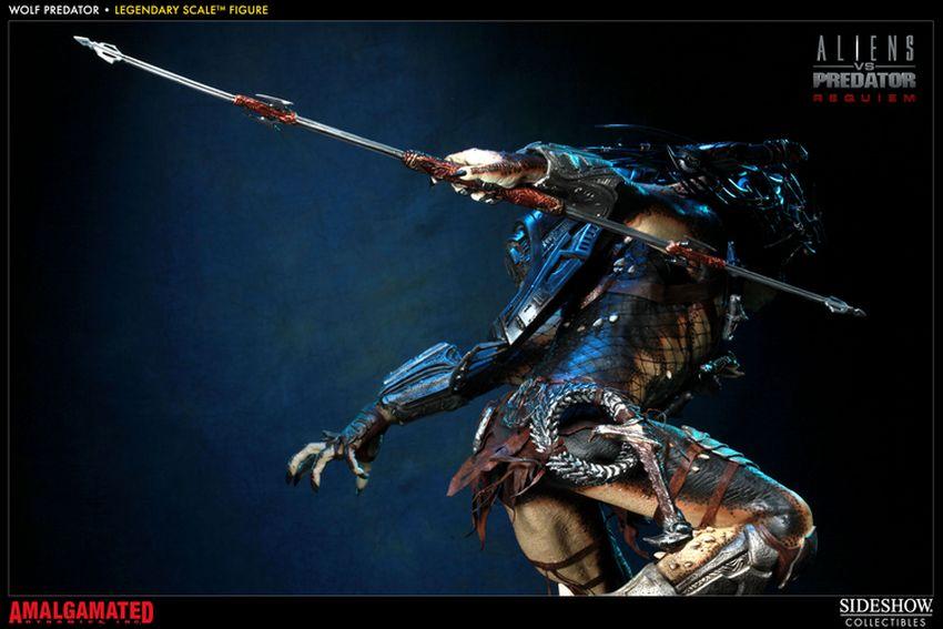 ALIENS VS PREDATORS: WOLF PREDATOR Legendary scale figure Wolf-predator-legendary-scale-figure-400093_press-22