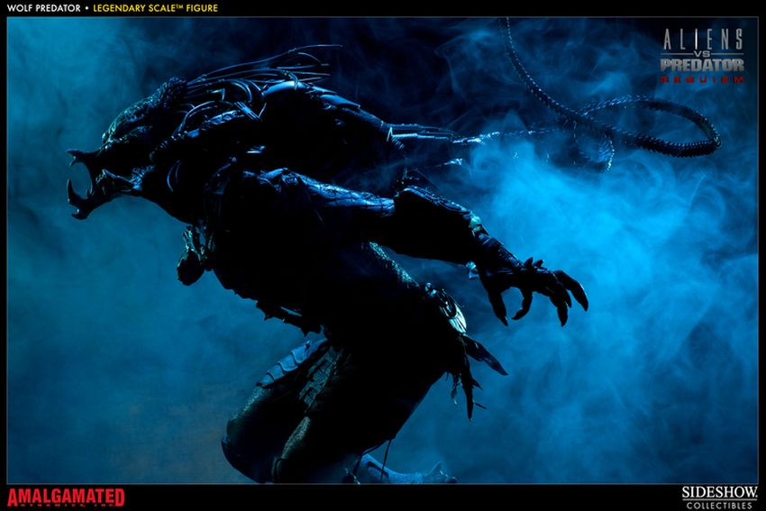ALIENS VS PREDATORS: WOLF PREDATOR Legendary scale figure Wolf-predator-legendary-scale-figure-400093_press-23