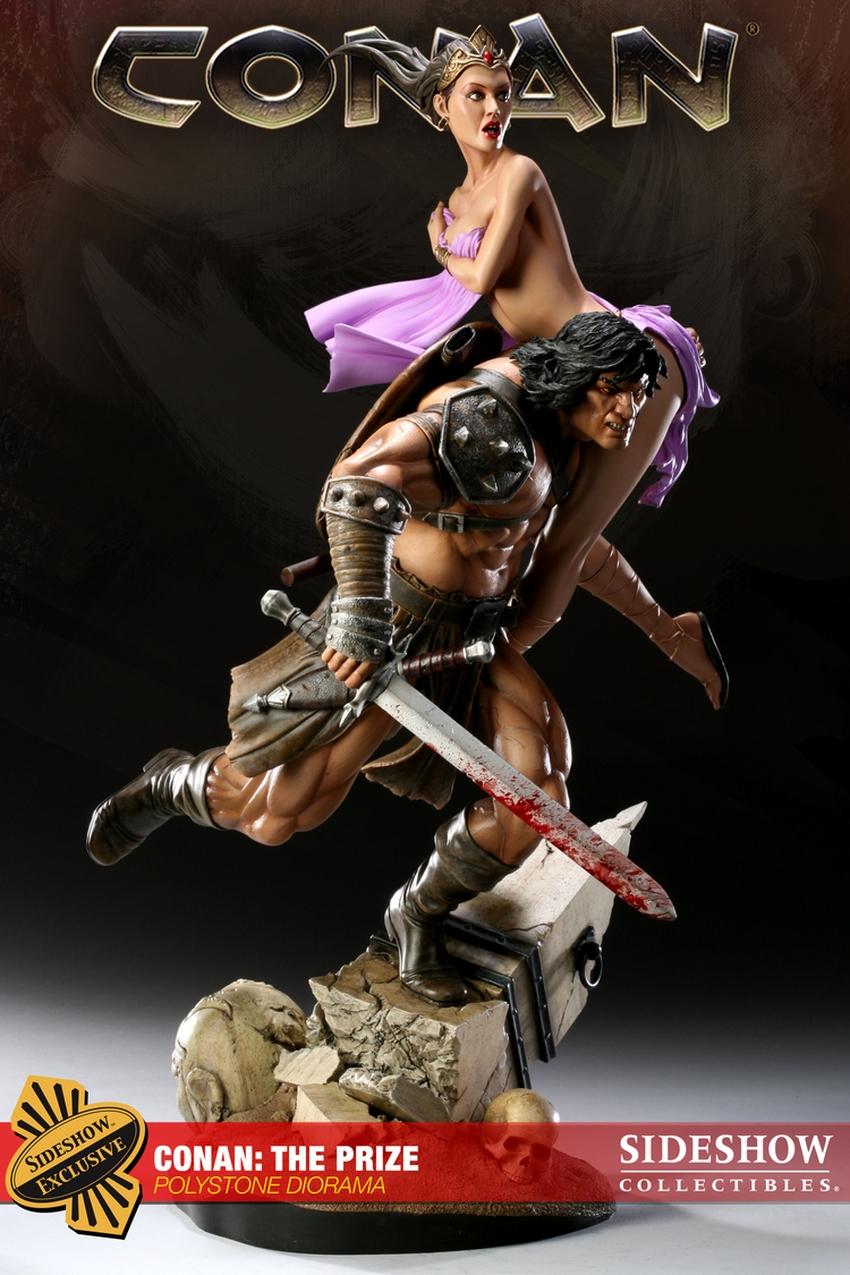 CONAN: THE PRIZE Diorama Conan-the-prize-diorama-sideshow-2000221_press-01