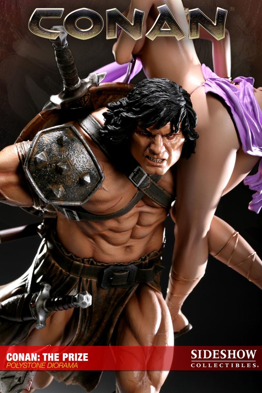 CONAN: THE PRIZE Diorama Conan-the-prize-diorama-sideshow-200022_press-07