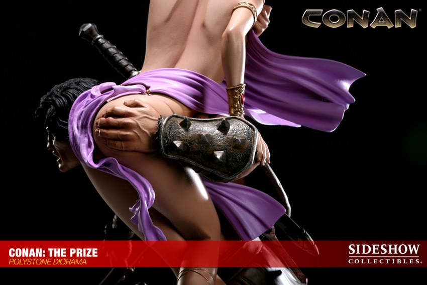 CONAN: THE PRIZE Diorama Conan-the-prize-diorama-sideshow-200022_press-12