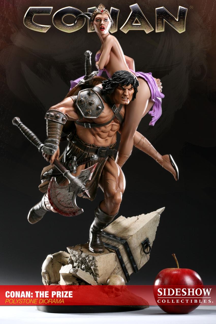 CONAN: THE PRIZE Diorama Conan-the-prize-diorama-sideshow-200022_press-17