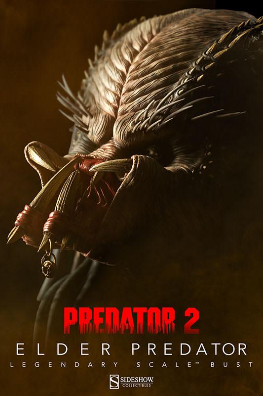 PREDATOR 2: ELDER PREDATOR Legendary scale bust  Elder-predator-legendary-scale-bust-200253-press-01
