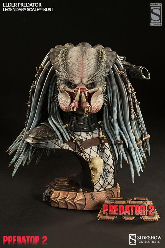 PREDATOR 2: ELDER PREDATOR Legendary scale bust  Elder-predator-legendary-scale-bust-200253-press-02