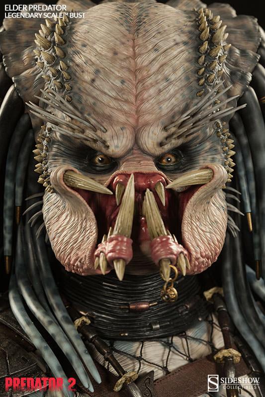 PREDATOR 2: ELDER PREDATOR Legendary scale bust  Elder-predator-legendary-scale-bust-200253-press-03