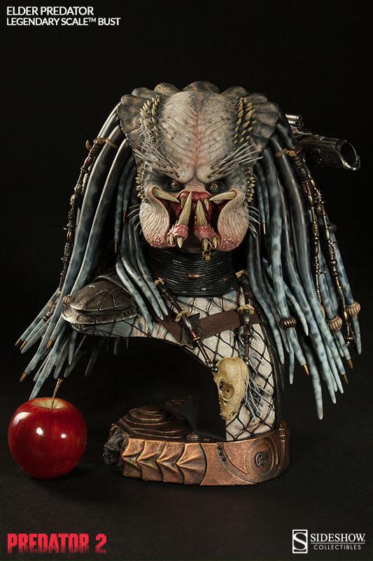 PREDATOR 2: ELDER PREDATOR Legendary scale bust  Elder-predator-legendary-scale-bust-200253-press-04