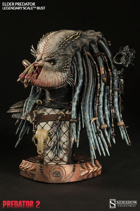 PREDATOR 2: ELDER PREDATOR Legendary scale bust  Elder-predator-legendary-scale-bust-200253-press-05