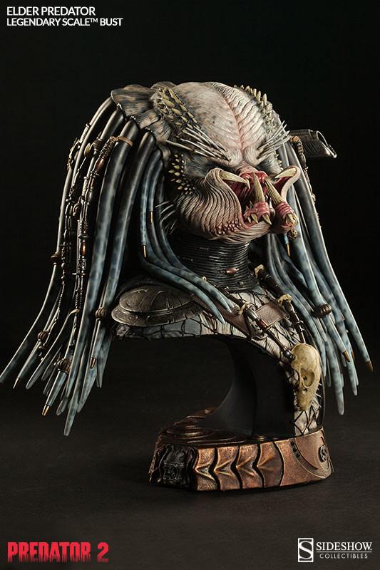 PREDATOR 2: ELDER PREDATOR Legendary scale bust  Elder-predator-legendary-scale-bust-200253-press-07