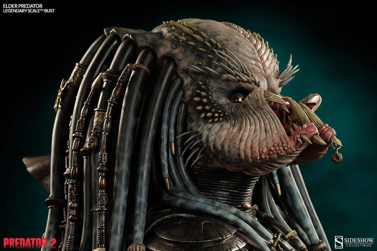 PREDATOR 2: ELDER PREDATOR Legendary scale bust  Elder-predator-legendary-scale-bust-200253-press-11
