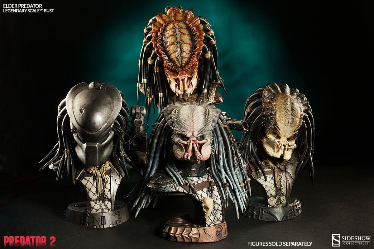 PREDATOR 2: ELDER PREDATOR Legendary scale bust  Elder-predator-legendary-scale-bust-200253-press-13