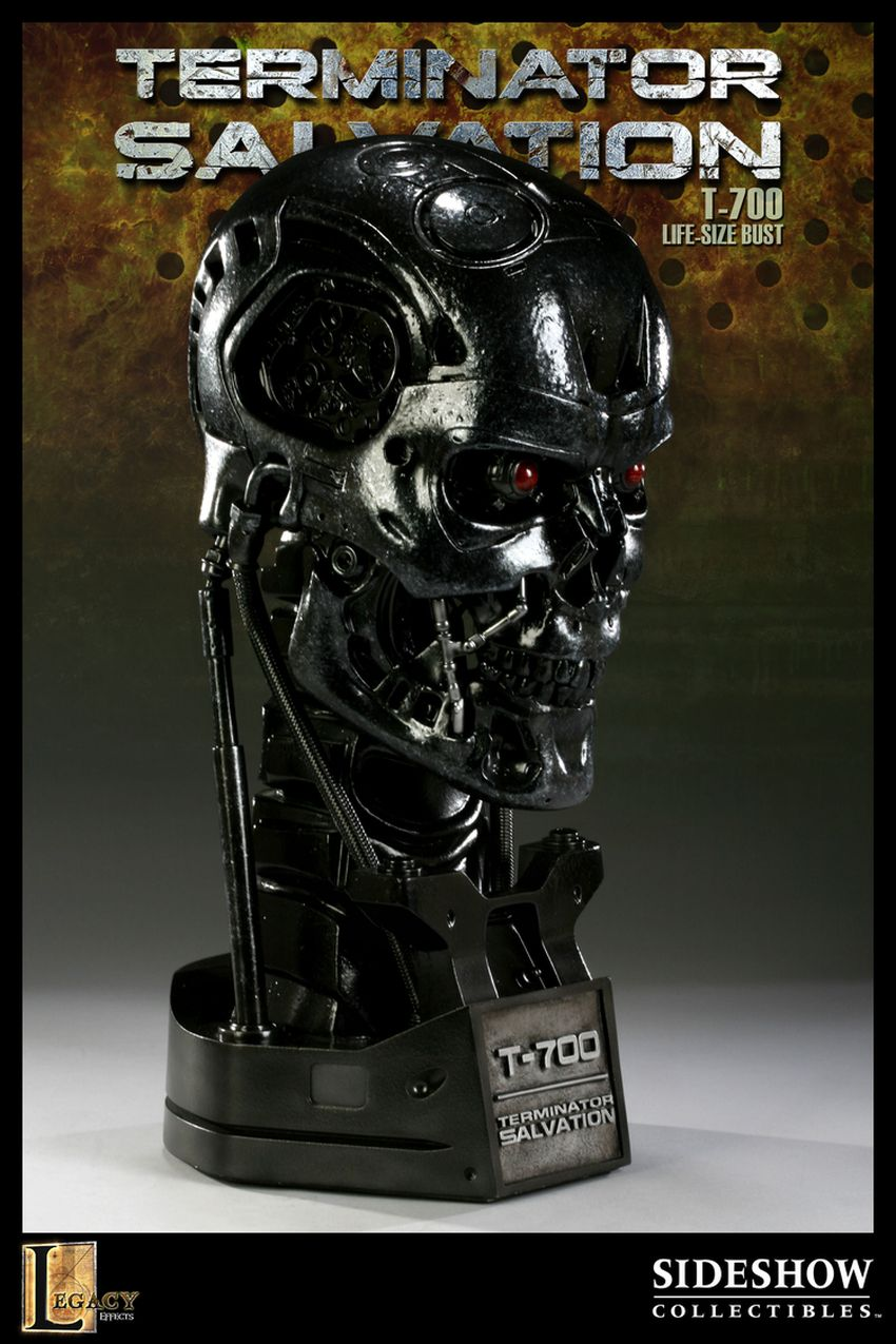 """TERMINATOR SALVATION"" T-700 Life size bust T-700-life-size-bust-400030_press-03"