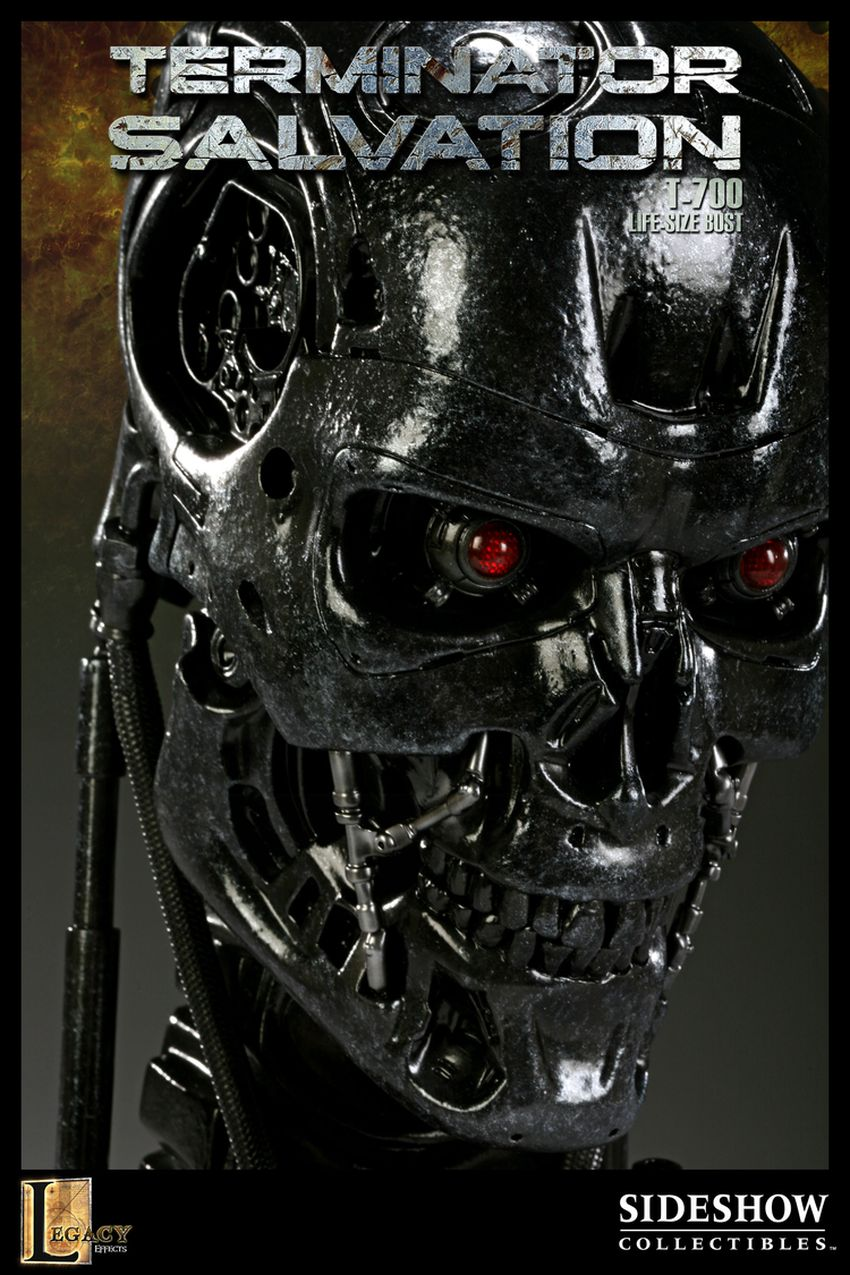 """TERMINATOR SALVATION"" T-700 Life size bust T-700-life-size-bust-400030_press-04"