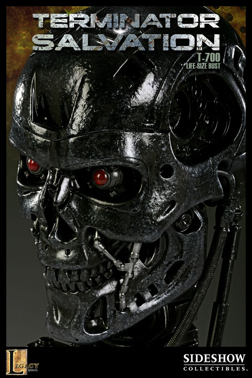 """TERMINATOR SALVATION"" T-700 Life size bust T-700-life-size-bust-400030_press-05"