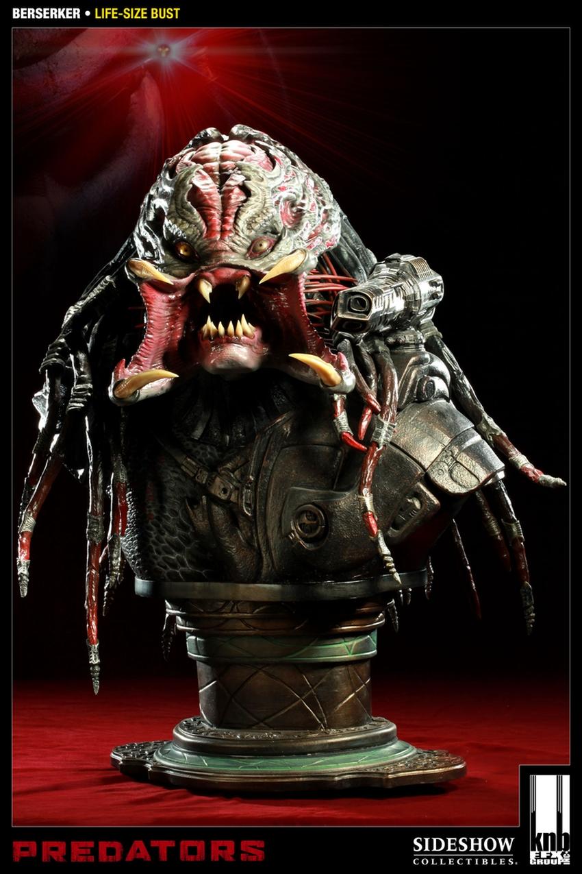 """PREDATORS""  BERSERKER Life size bust The-berserker-predator-400049-press-01"
