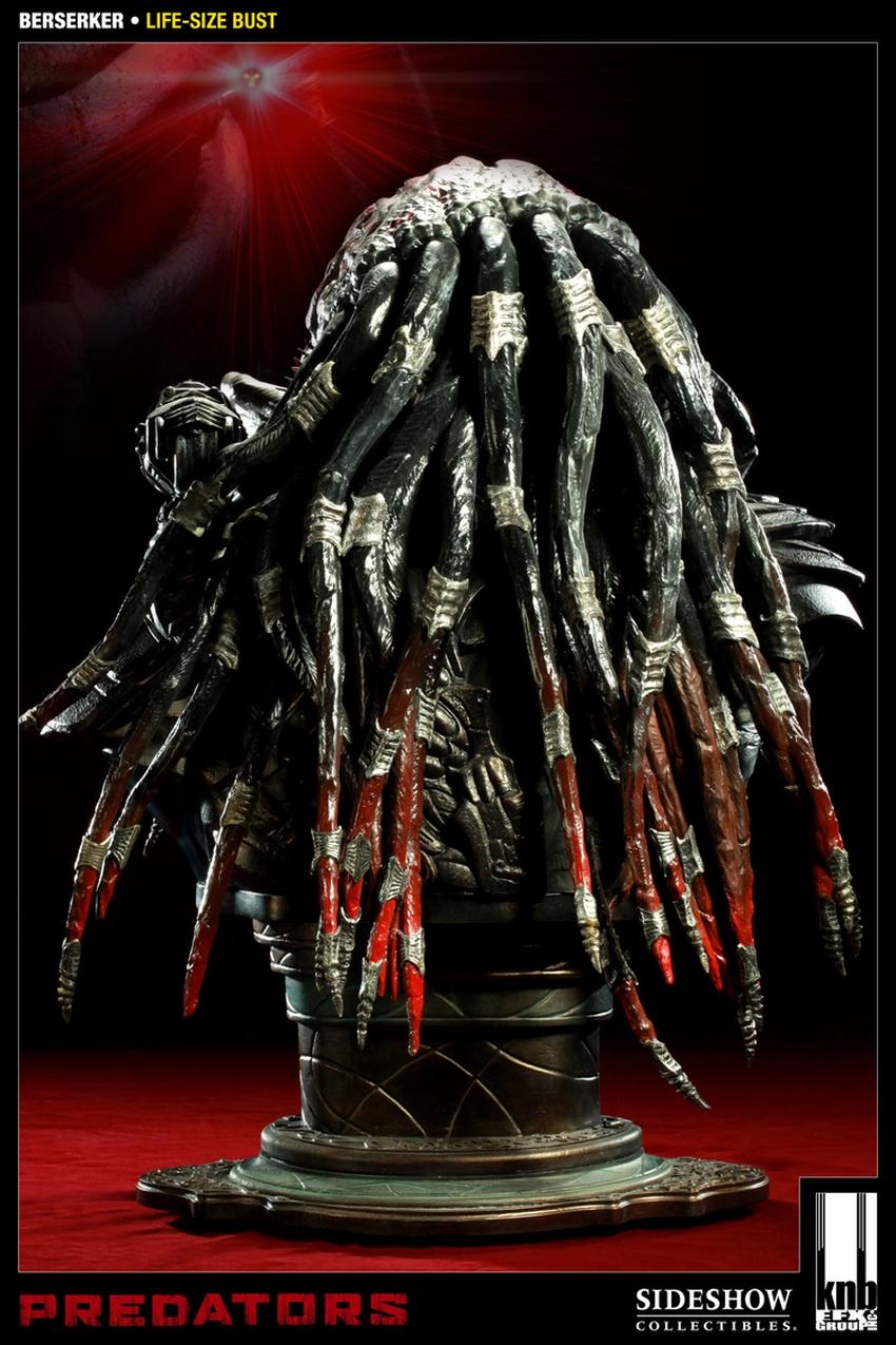 """PREDATORS""  BERSERKER Life size bust The-berserker-predator-400049-press-03"