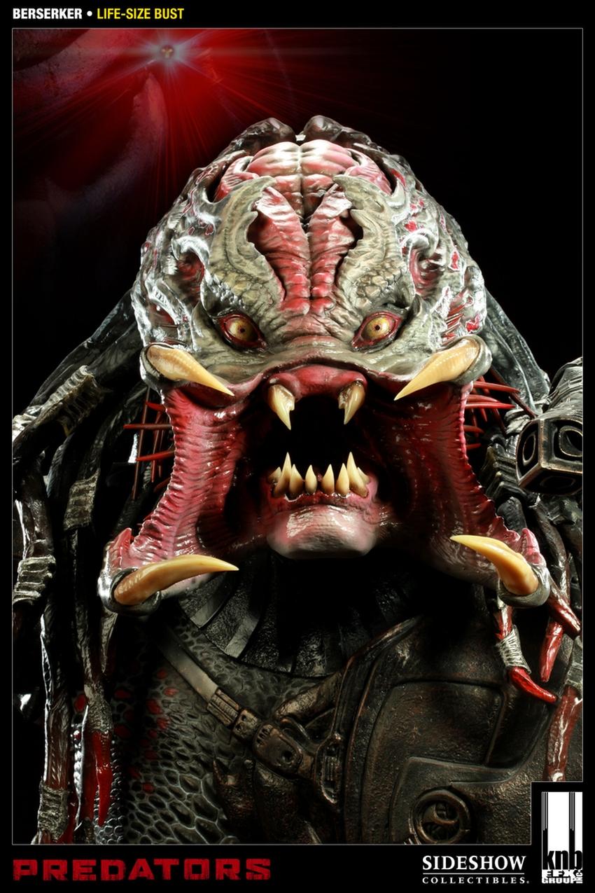 """PREDATORS""  BERSERKER Life size bust The-berserker-predator-400049-press-04"