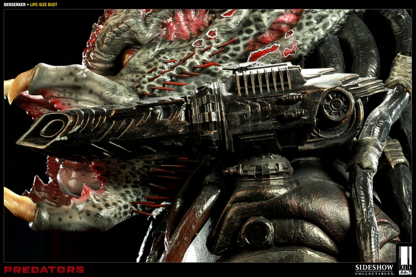 """PREDATORS""  BERSERKER Life size bust The-berserker-predator-400049-press-05"