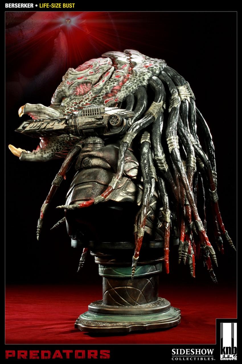 """PREDATORS""  BERSERKER Life size bust The-berserker-predator-400049-press-06"