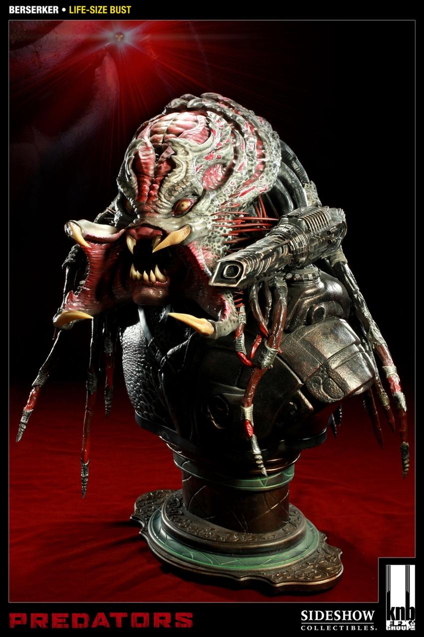 """PREDATORS""  BERSERKER Life size bust The-berserker-predator-400049-press-07"