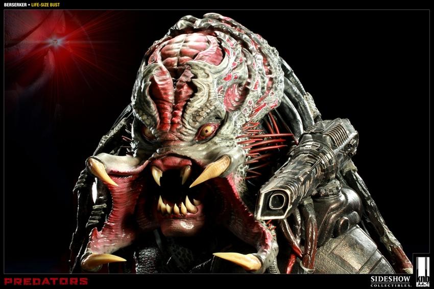 """PREDATORS""  BERSERKER Life size bust The-berserker-predator-400049-press-08"