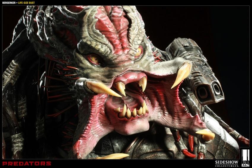 """PREDATORS""  BERSERKER Life size bust The-berserker-predator-400049-press-09"